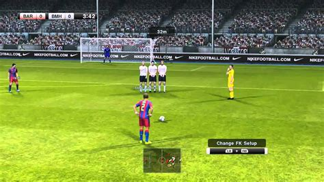 pro evolution soccer  pc gameplay fc barcelona  fc