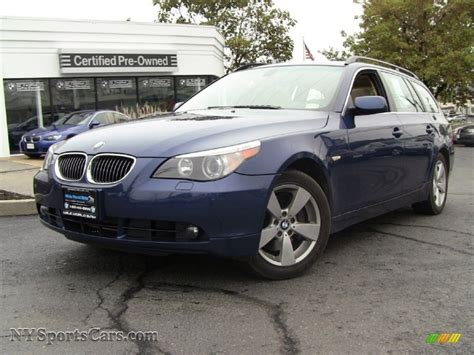 2006 Bmw 5 Series 530xi Wagon In Mystic Blue Metallic