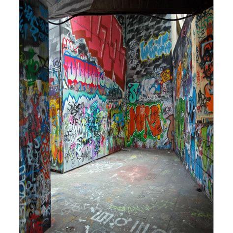 papier peint g 233 ant d 233 co graffiti l 200 x h 240 cm
