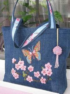 More jeans bag - maomao - I move your feet | CRAFTS | Pinterest | Bag Denim bag and Purse
