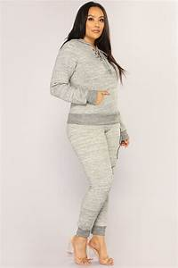 Love To Lounge : love laced lounge joggers marled charcoal ~ Watch28wear.com Haus und Dekorationen