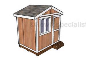 6x8 Storage Shed Plans Free by 6x8 Small Garden Shed Plans Howtospecialist How To
