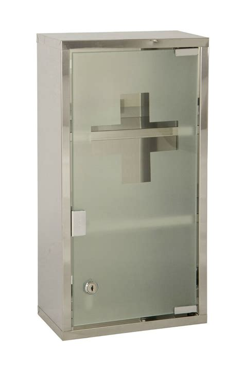 Locking Medicine Cabinet by Wall Mounted Lockable 2 Large Medicine Cabinet