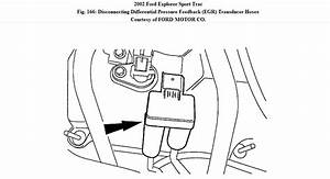 I Have A Ford Explorer Sport Trac 4 0 It Has Two Dpfe Sensors And I Cant Find Where The Smaller