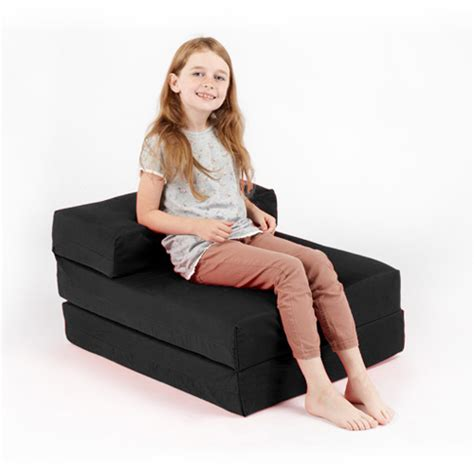 Single Fold Out Block Foam Z Bed Sofabed Guest Chair Bed