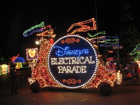 disneyland festival of lights disney electric light parade autos post