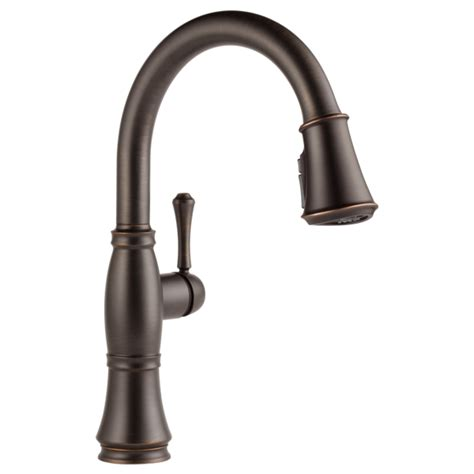 delta cassidy faucet canada 9197 rb dst single handle pull kitchen faucet