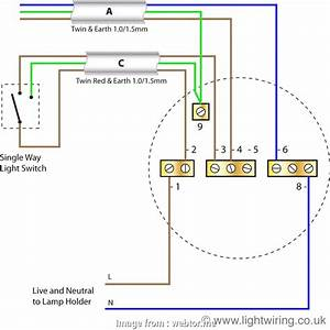 Two  Light Switch Wiring Diagram Uk Professional Wiring
