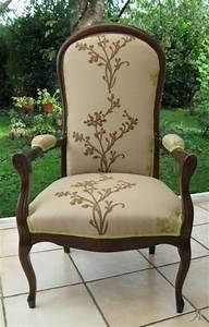 Fauteuil Style Voltaire : fauteuil voltaire artisans du patrimoine ~ Teatrodelosmanantiales.com Idées de Décoration
