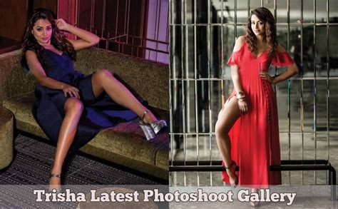 Actress Trisha Krishnan 2017 Photoshoot Gallery
