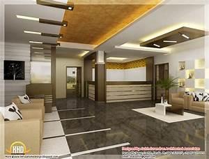 Beautiful 3D interior office designs ~ Kerala House Design