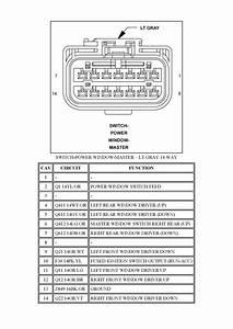 5 Pin Window Switch Wiring Diagram