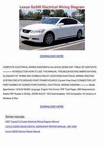 Lexus Gs300 Electrical Wiring Diagram By Forrestegan