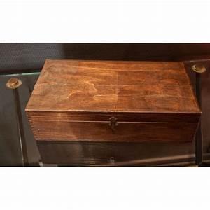 Boite à Thé Bois : boite en bois coffret vintage ~ Teatrodelosmanantiales.com Idées de Décoration