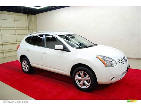 nissan 2008 white 2008 phantom white pearl nissan rogue s 4561316