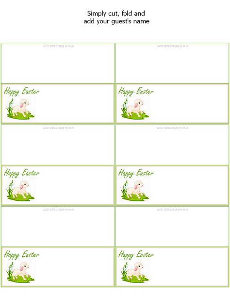 easter place settings  tags festival collections
