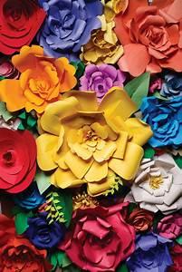51 DIY Paper Flower Tutorials - How to Make Paper Flowers