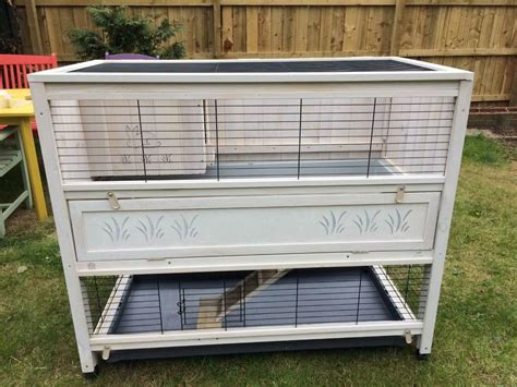 ferplast large cottage rabbit hutch in whitley bay tyne