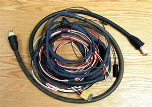 1955 Chevy Tail Light Wire Harness 2 Door Station Wagon