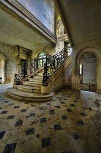 Stunning Images House Parts by Staircase In An Abandoned House In Photorator