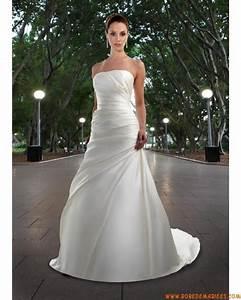 robe de mariee simple satin avec bustier robes de mariee With robe de mariée corset