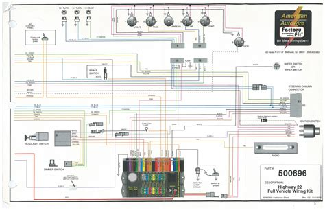American Auto Wire Wiring Diagram by My 1947 Chevy Project