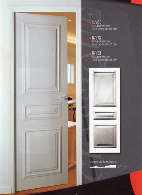 habillage de portes decoration de porte porte moderne