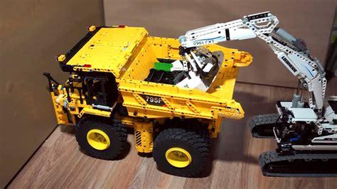 lego mining truck youtube