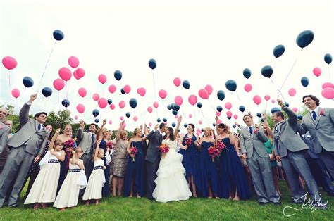 ballons steigen lassen der klassiker