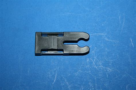 certainteed awning window detach clip   black plastic     window repair parts