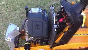 Cub Cadet 2166 Kohler Ch16s 16 Hp Engine Ebay Demo