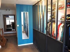 Cloison Verriere Castorama : dressing ouvert avec cloisons amovible castorama style ~ Nature-et-papiers.com Idées de Décoration