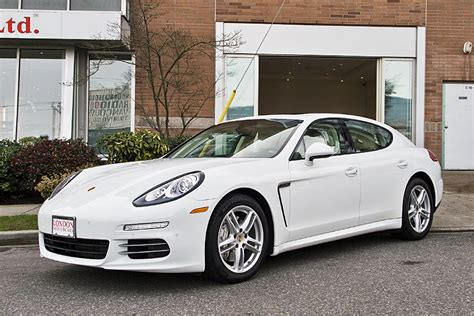 panamera porsche white porsche 2014 panamera 4s 4 door awd sedan london motorcars