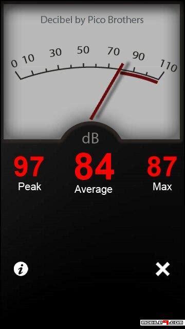 decibel meter  symbian   edition apps