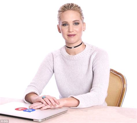 Jennifer Lawrence Answers Questions About Herself Online