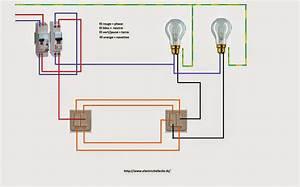 schemas electricite maison schema electrique double va et With quelle couleur avec le bleu 7 schema electrique le raccordement de 3 interrupteurs va