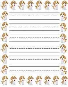 lined paper for kids | Loving Printable