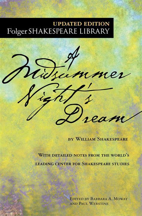 midsummer nights dream book  william shakespeare