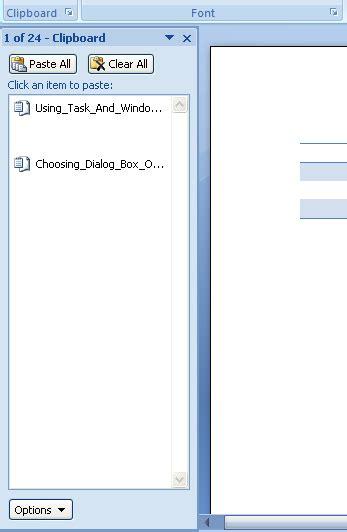 task  window panes task panes introduction