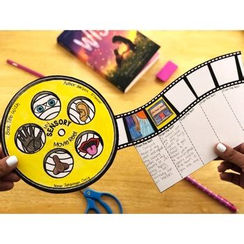 reading comprehension crafts creating sensory images