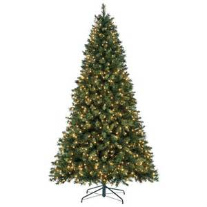 Ge Fraser Fir Pre Lit Christmas Tree by Lowe 39 S Pre Lit Artificial Christmas Trees