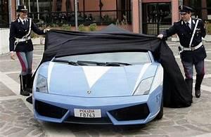 Lamborghini Gallardo LP560-4 Italian Police Car Crashed ...