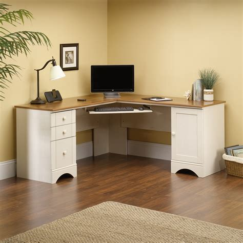 white desk with wood top furniture l shaped white wooden corner desk with hutch