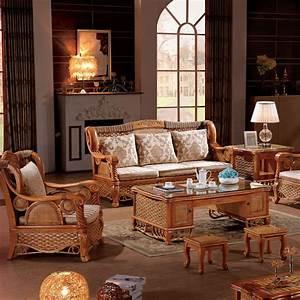 2015, Latest, Sofa, Design, Nature, Indonesian, Rattan, Living, Room, Furniture, Sofa, Set, 902