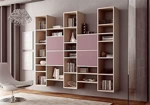 Bibliothèque Moderne Design : biblioth que design suspendue moderne moretti compact so nuit ~ Teatrodelosmanantiales.com Idées de Décoration