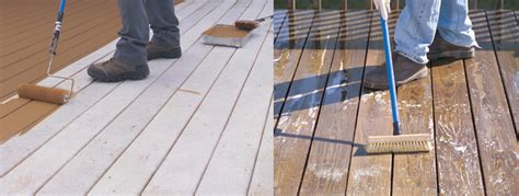 applying deck stain tips  sherwin williams