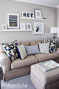 20, Great, Ways, To, Make, Use, Of, The, Space, Behind, Couch, For, Extra, Storage, And, Visual, Depth