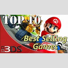 Top 10 Best Selling Nintendo 3ds Games So Far Youtube