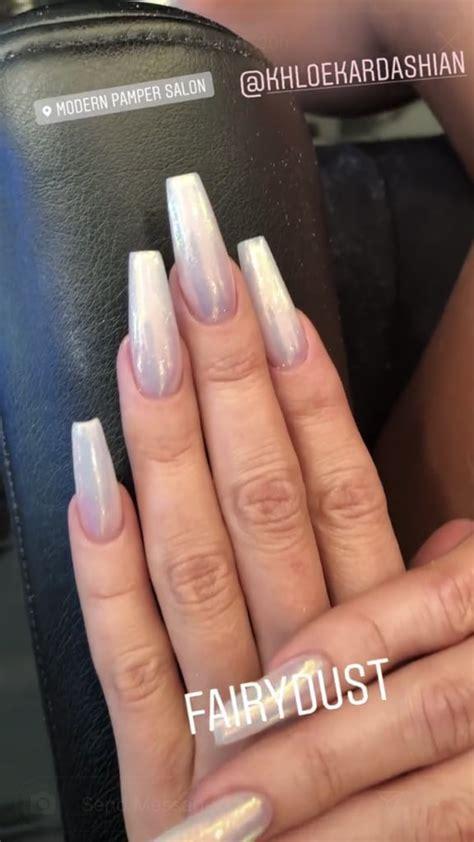 Khloe Kardashian's Fairy Dust Nail Polish | POPSUGAR ...