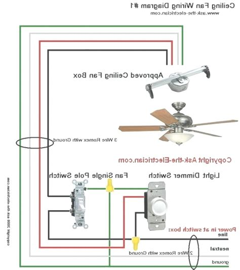 hton bay ceiling fan wiring diagram switch integralbookcom lights and ls
